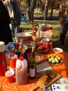 Halloween Yale game spread
