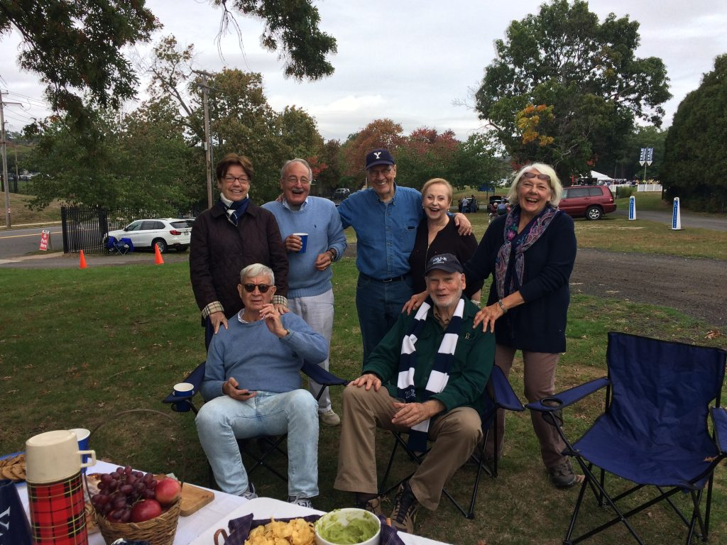 Yale-Dartmouth tailgate, oct. 8, 2016